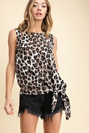 Mittoshop LOLA LEPOARD TANK - Front cropped