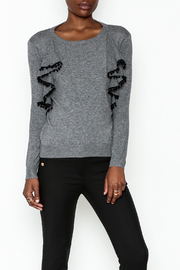 Lola Ruffle Sleeve Sweatshirt - Product Mini Image