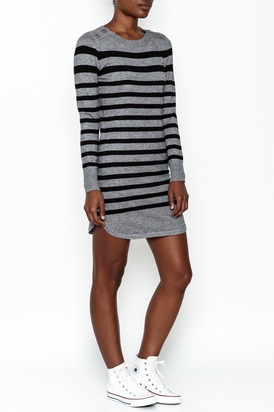 Lola Rugby Dress - Side Cropped Image
