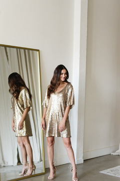 Gentle Fawn Lola Sequin Shift Dress - Product List Image