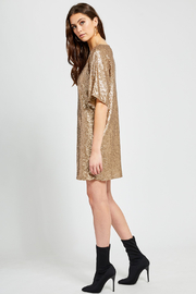 Gentle Fawn Lola Sequin Shift Dress - Other