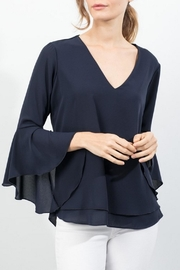 Lola & Sophie Bell Sleeve Top - Product Mini Image