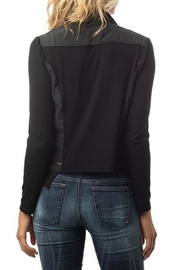 Lola & Sophie Drape Collar Moto - Side cropped