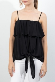 Lola & Sophie Front Ruffle Cami - Product Mini Image