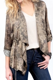 Lola & Sophie Silk Camo Jacket - Product Mini Image