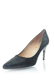 Lola Cruz Black Sparkle Heel - Product Mini Image