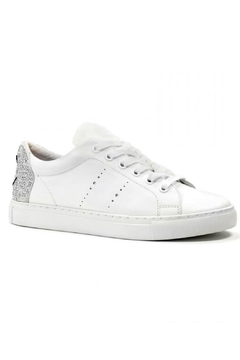 Lola Cruz Leather Sneaker Wink - Product List Image