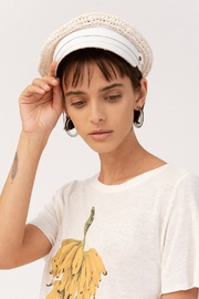 LOLA HATS Raffia Chauffeur White - Product Mini Image