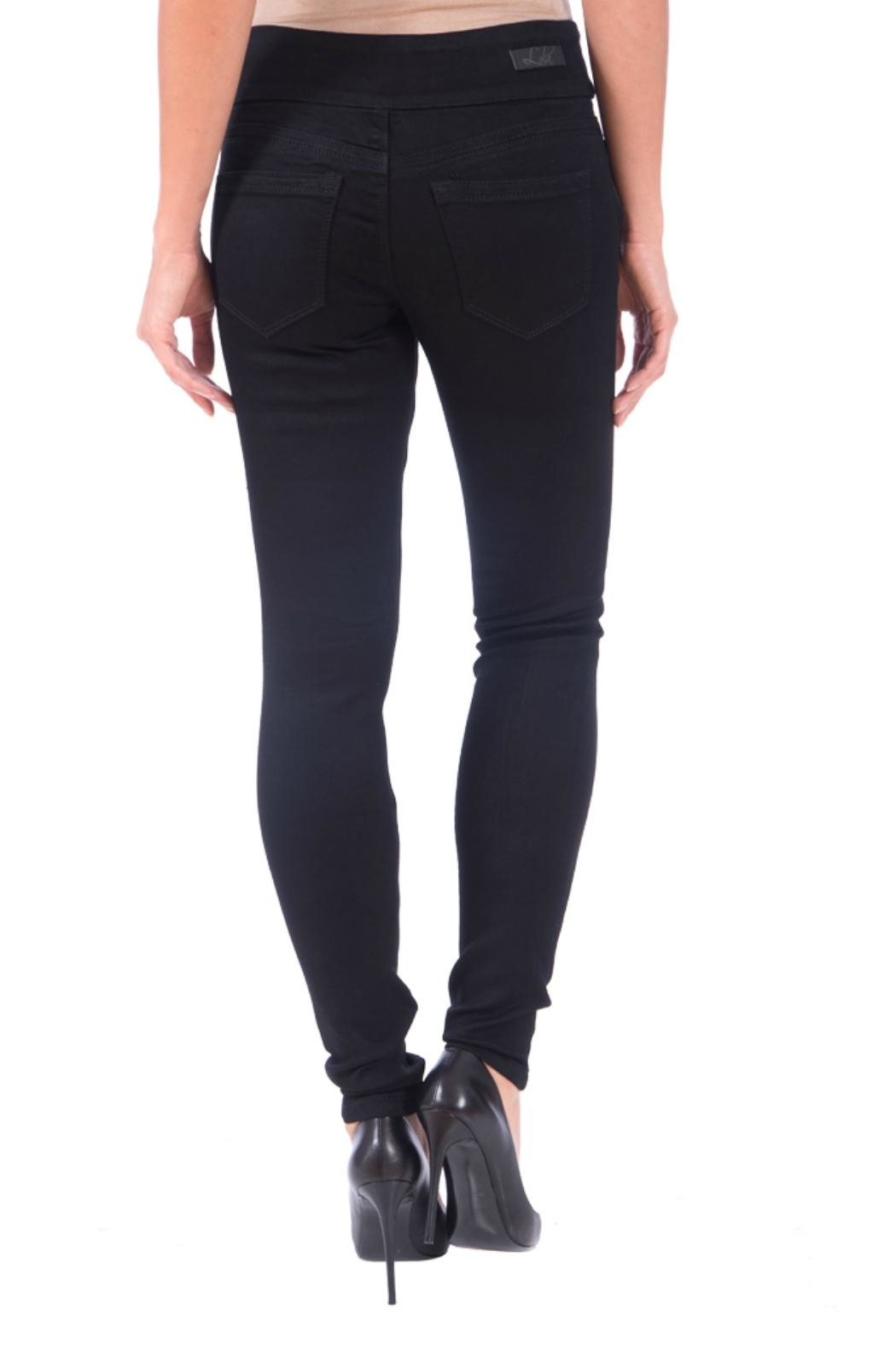Lola Jeans Anna Pull On  Jeans - Front Full Image