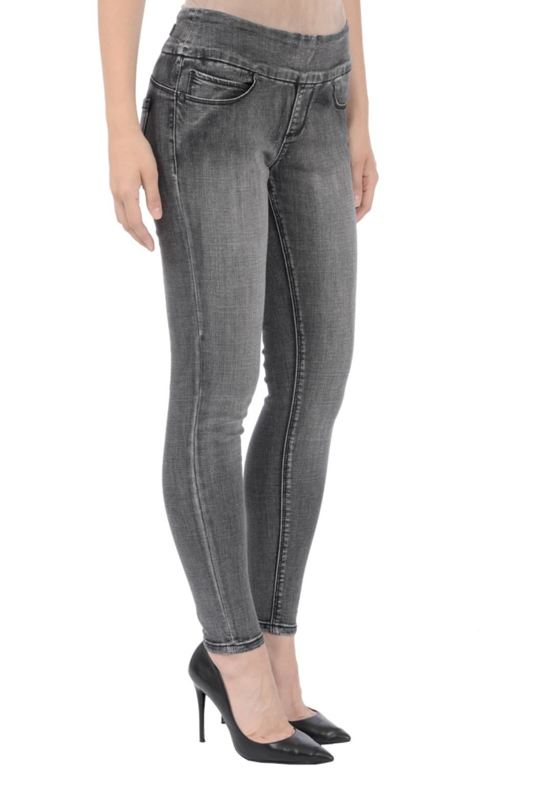 Lola Jeans Julia Pull-On Jeans - Front Full Image