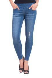 Lola Jeans Midrise Pull On Jean - Product Mini Image