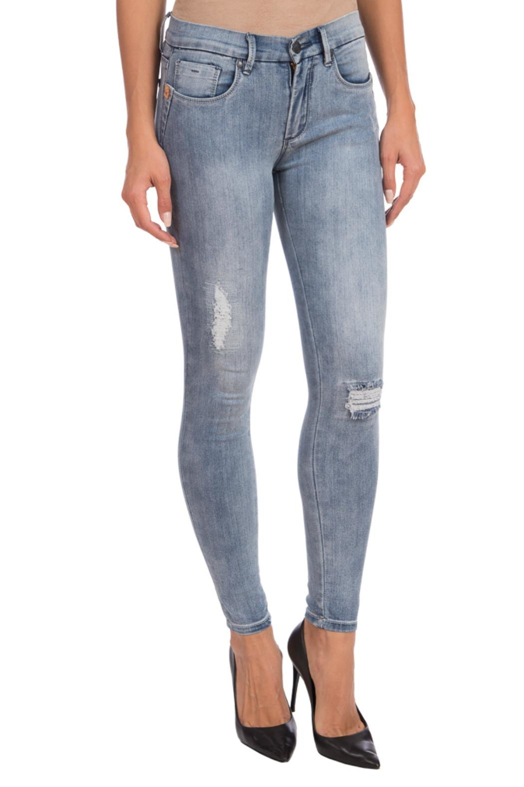 Lola Jeans Midrise Stretch Jean - Main Image