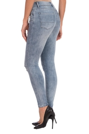 Lola Jeans Midrise Stretch Jean - Front full body