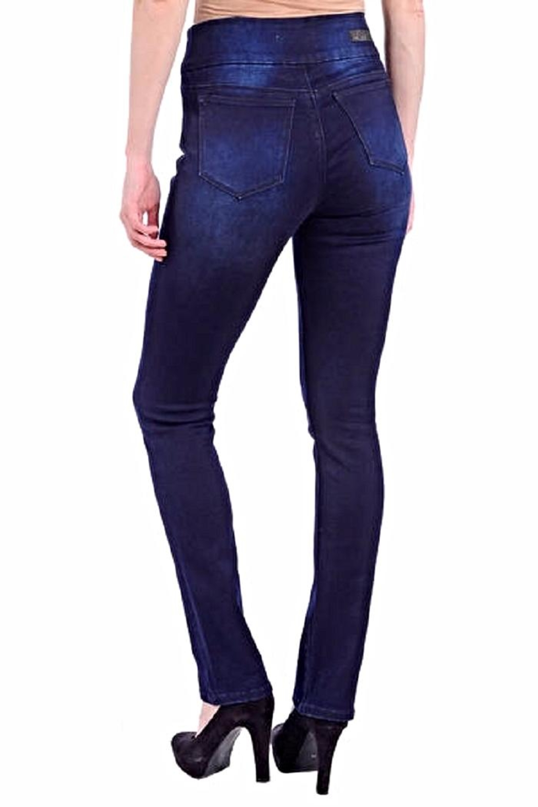 Lola Jeans Rebeccah Pull-On Straight - Front Full Image