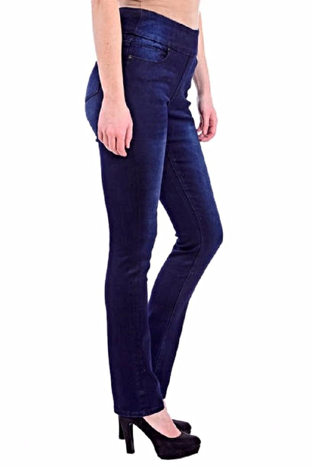Lola Jeans Rebeccah Pull-On Straight - Back Cropped Image