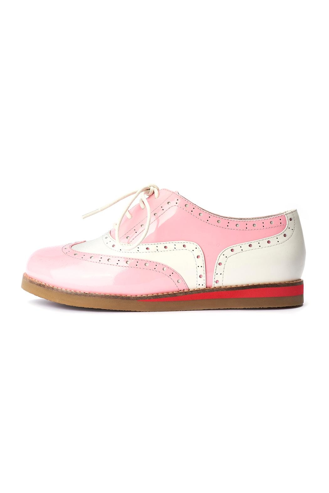 Lola Ramona Cecilia Wingtip Candy Shoes - Front Full Image