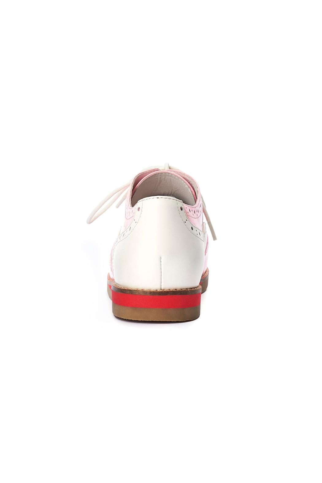 Lola Ramona Cecilia Wingtip Candy Shoes - Back Cropped Image