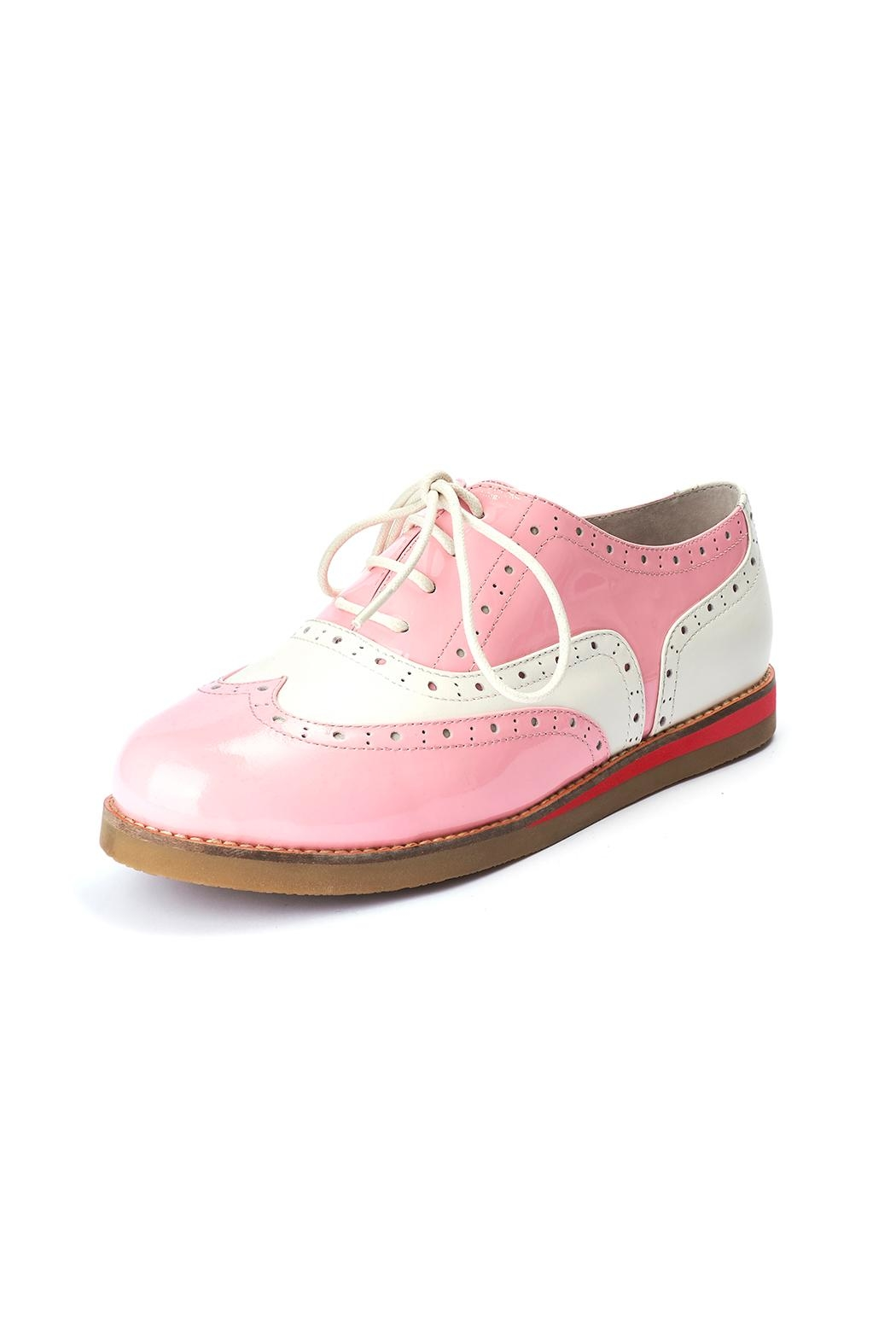Lola Ramona Cecilia Wingtip Candy Shoes - Front Cropped Image