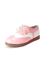 Lola Ramona Cecilia Wingtip Candy Shoes - Front cropped