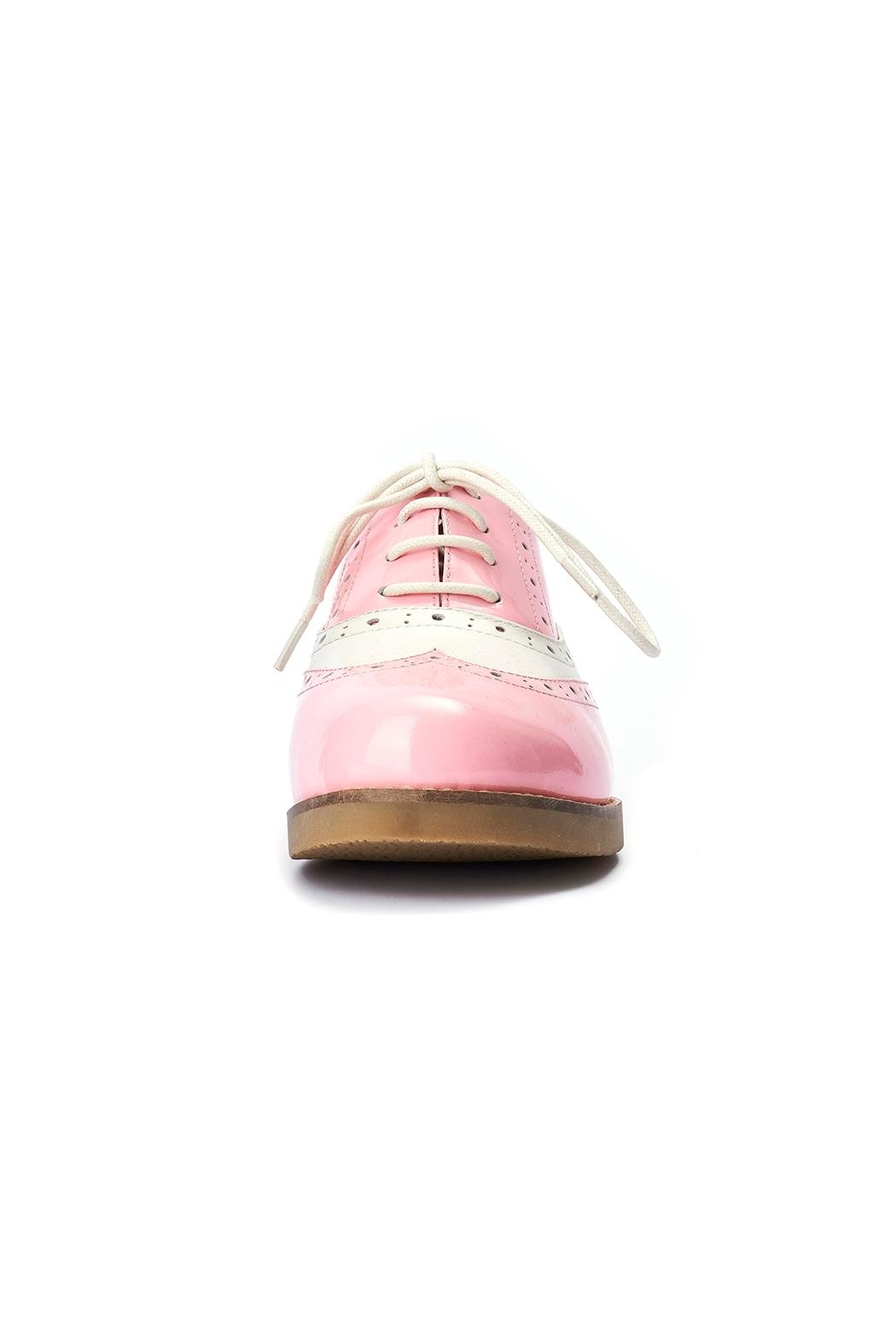 Lola Ramona Cecilia Wingtip Candy Shoes - Side Cropped Image