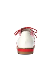 Lola Ramona Cecilia Wingtip Red Shoes - Back cropped