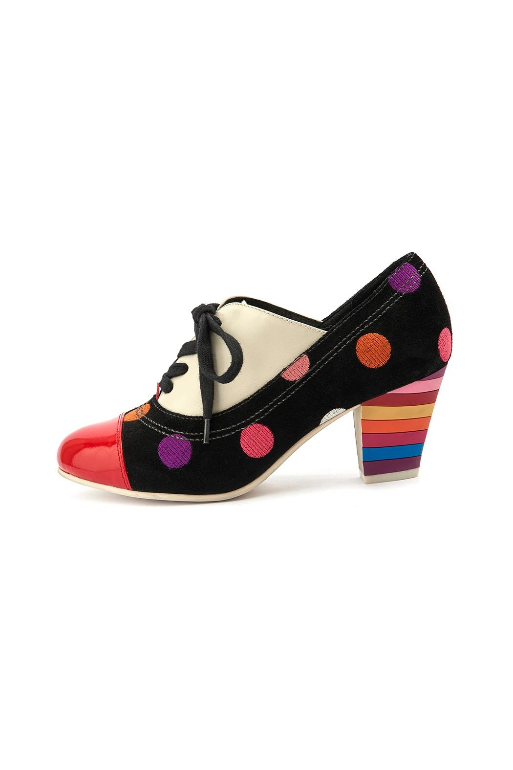 Lola Ramona Elsie Lace Dots Shoes - Front Full Image