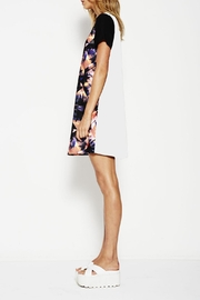 Lola vs Harper Palm Print Dress - Front full body