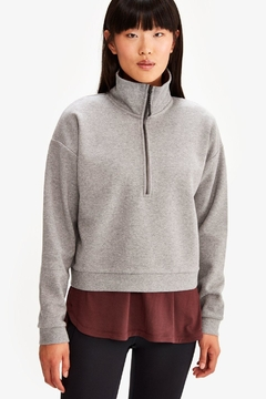 Lole Cropped Zip Pullover - Product List Image
