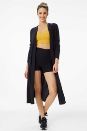 Lole Downtown Long Pocket Cardigan - Front cropped