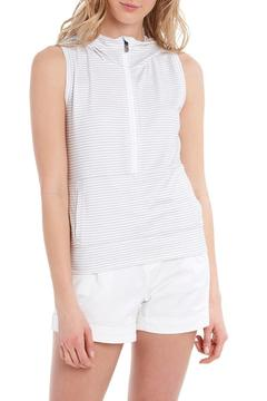 Shoptiques Product: Echo Sleeveless Hoodie Top