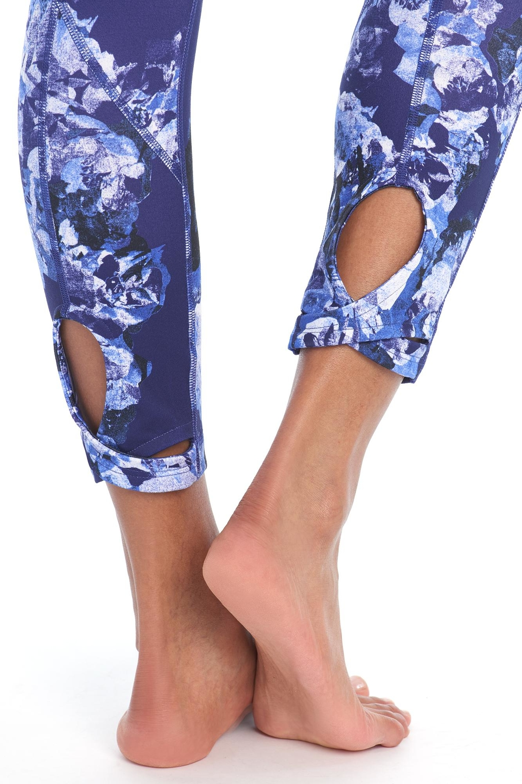 Lole Eliana Floral Leggings - Back Cropped Image