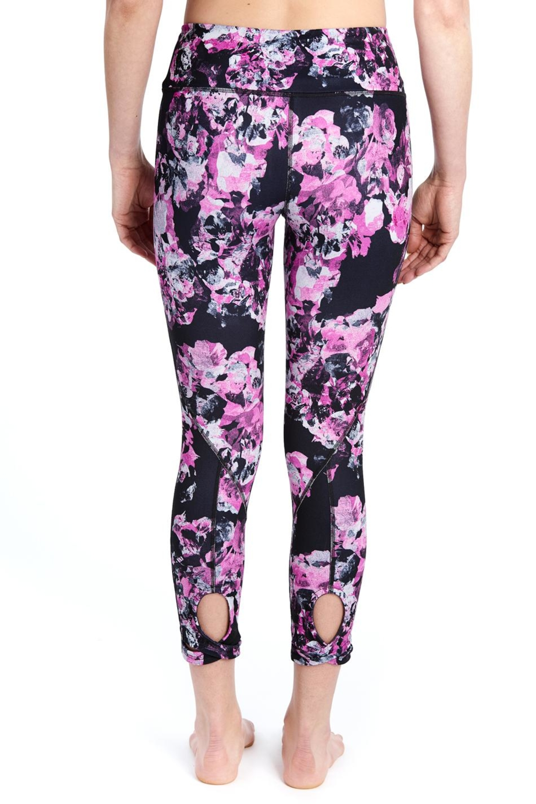 Lole Floral Crop Leggings - Front Full Image