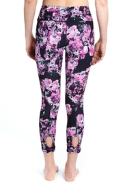 Lole Floral Crop Leggings - Front full body