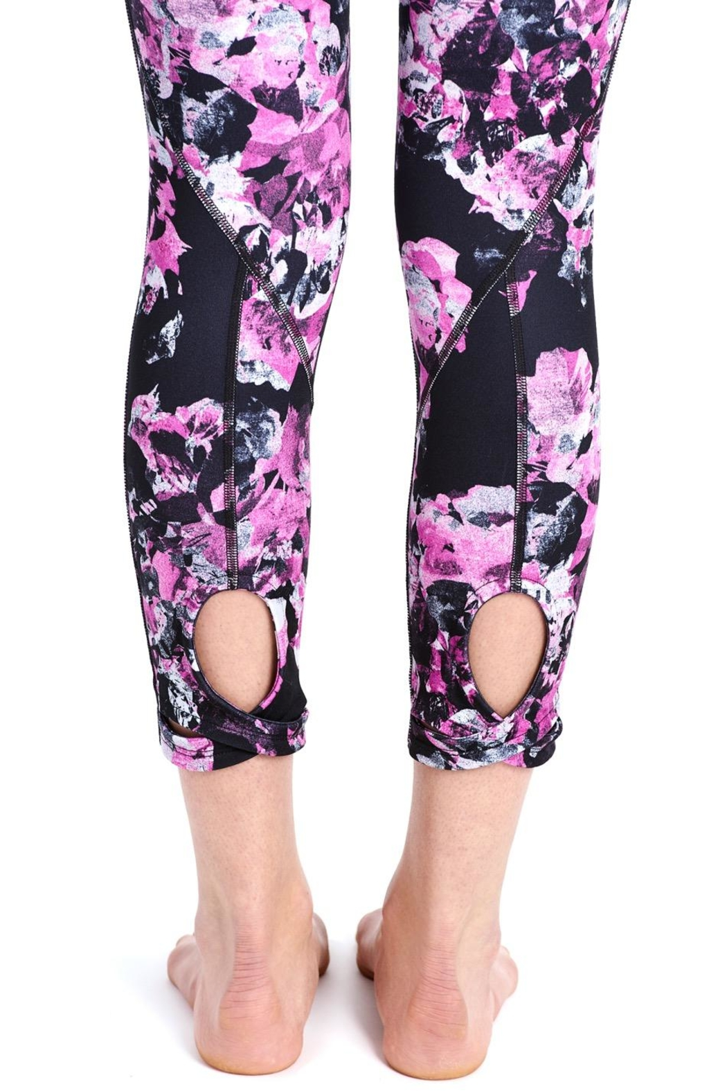 Lole Floral Crop Leggings - Side Cropped Image