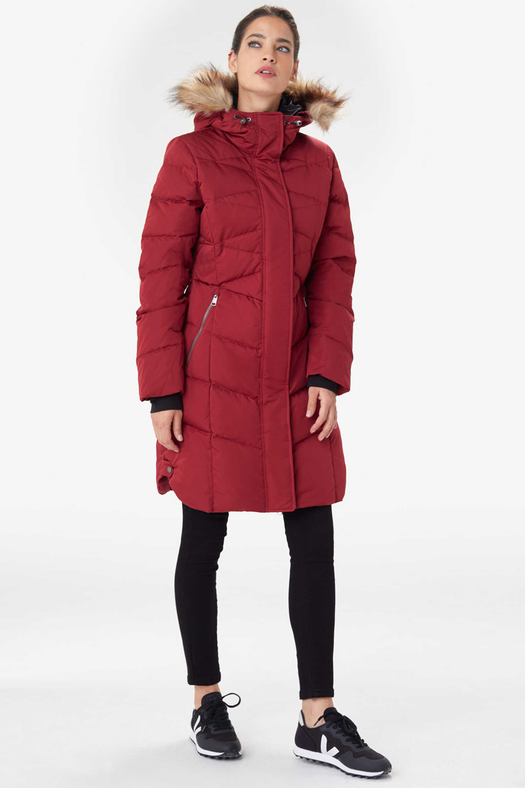 Lole Katie Down Coat - Side Cropped Image