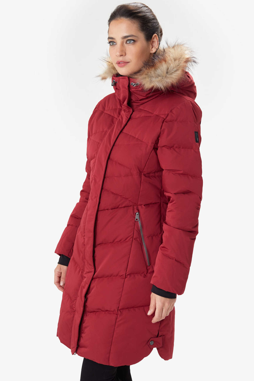 Lole Katie Down Coat - Front Full Image