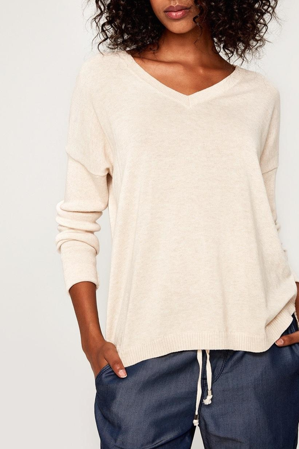 Lole Martha Sweater - Front Cropped Image