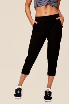 Shoptiques Product: Momentum Black Capris