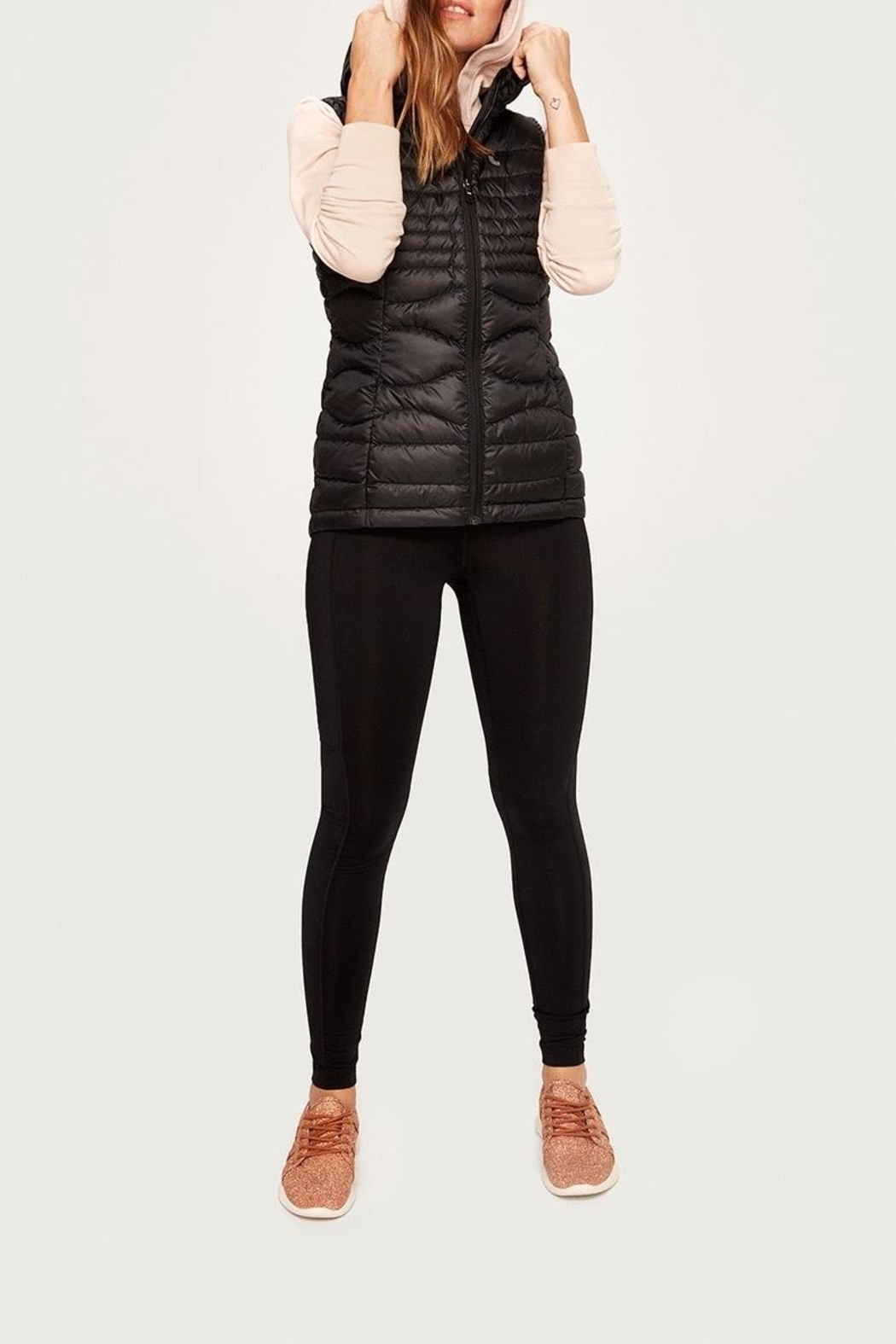 Lole Rose Packable Vest - Front Cropped Image