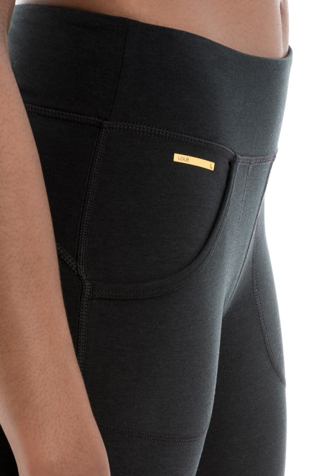Lole Salutation Yoga Legging - Side Cropped Image