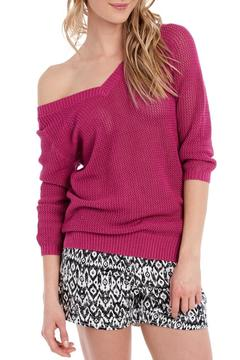 Shoptiques Product: V Neck Knit Sweater