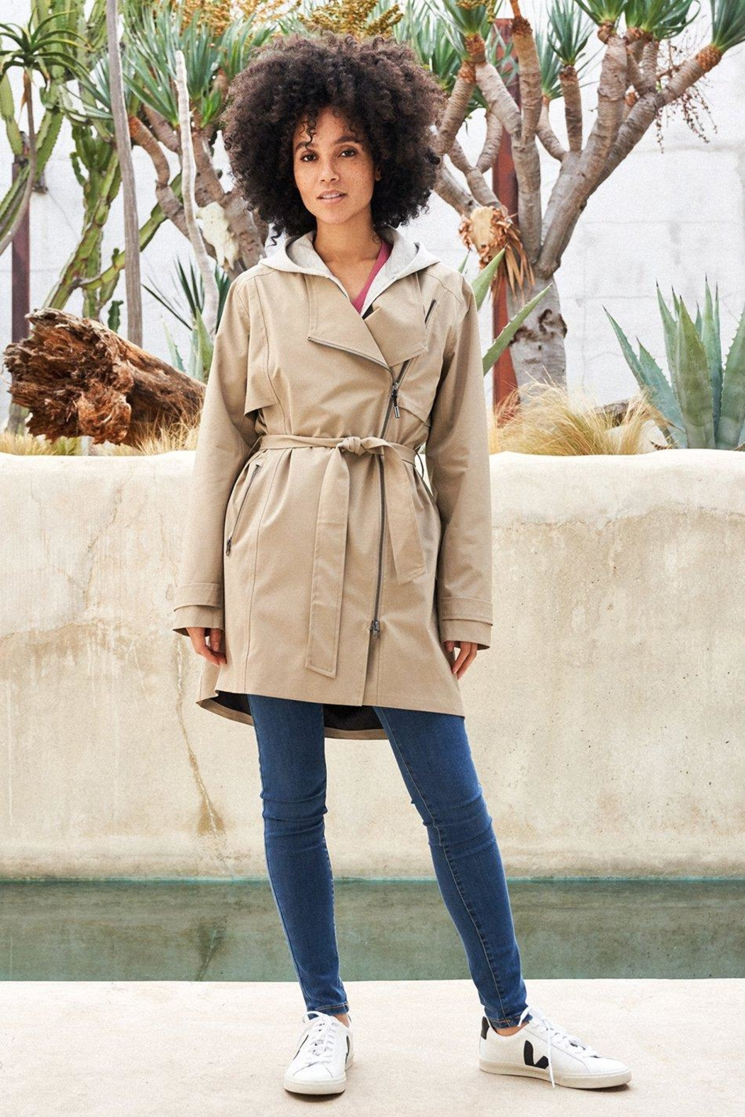 Lole Waterproof Trench - Side Cropped Image