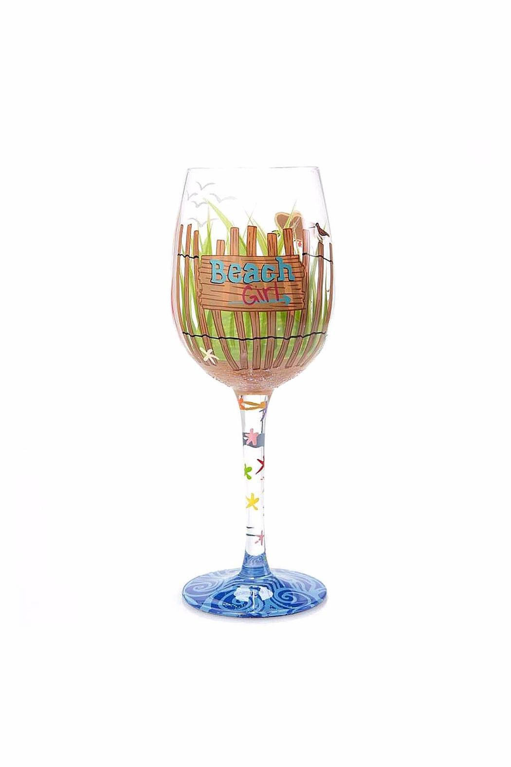 Lolita Beach Girl Wine Glass - Main Image