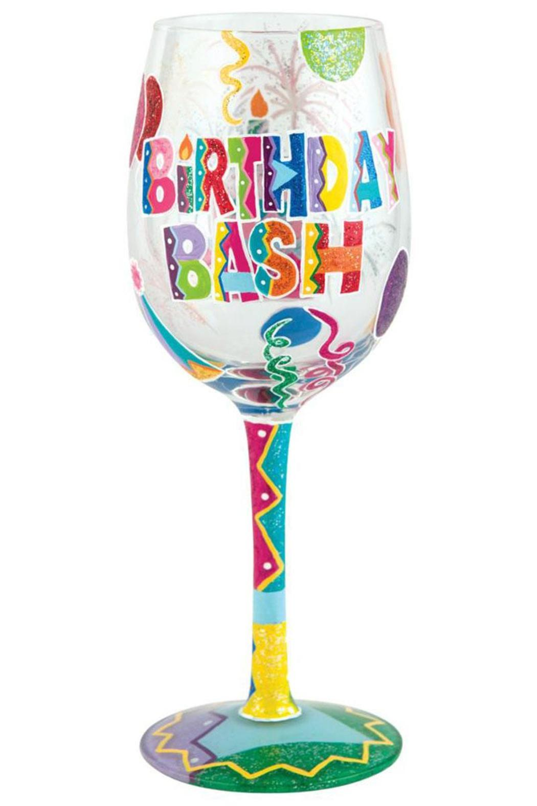 Lolita birthday bash wine glass from alabama by jubilee for Happy color spray paint price