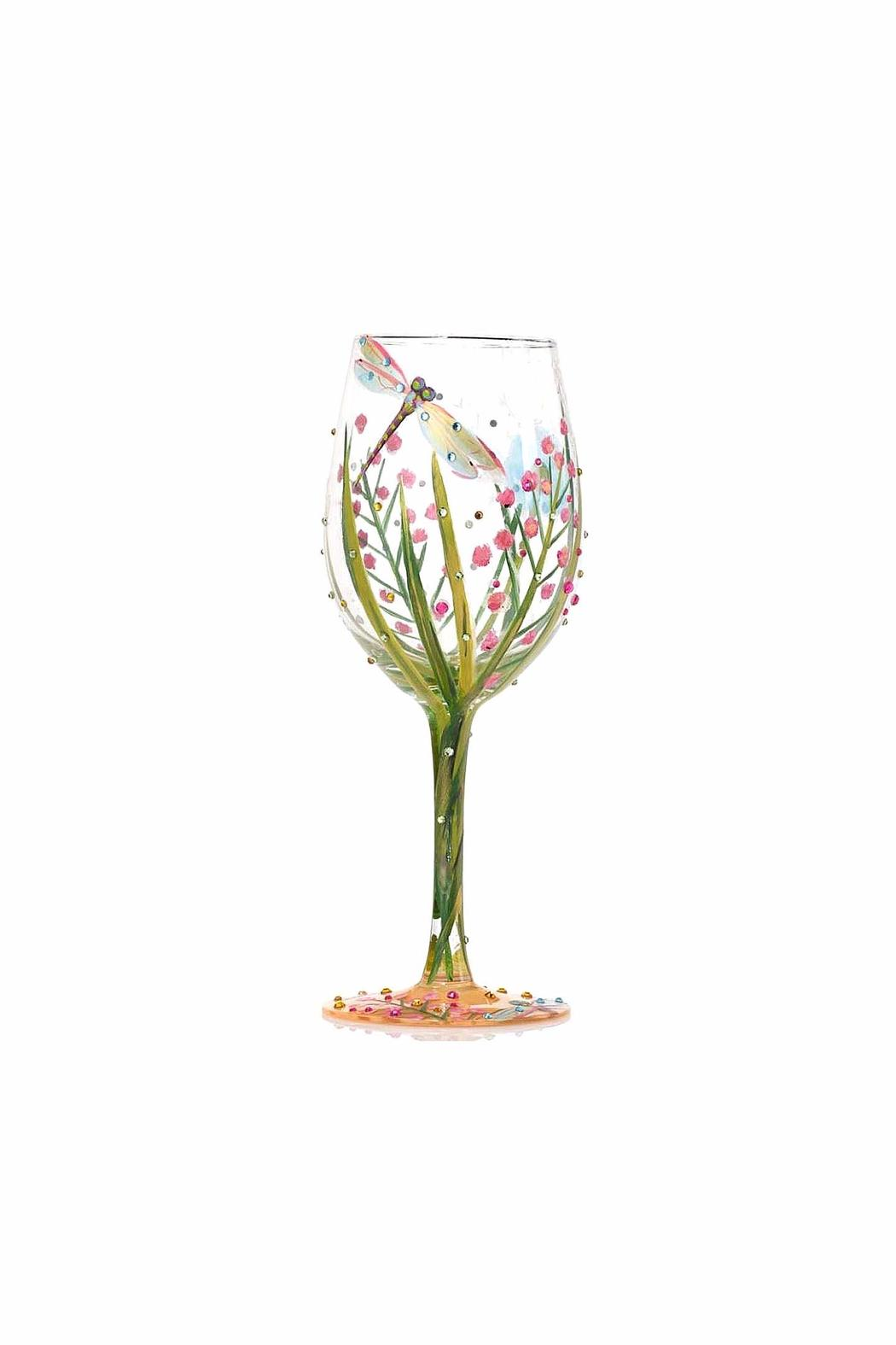 Lolita Dragonfly Wine Glass - Side Cropped Image