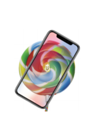 PhunkeeTree Lolli Pad Wireless Charger - Front full body