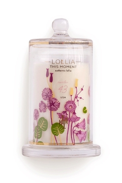 Lollia This Moment Glass Candle - Product List Image