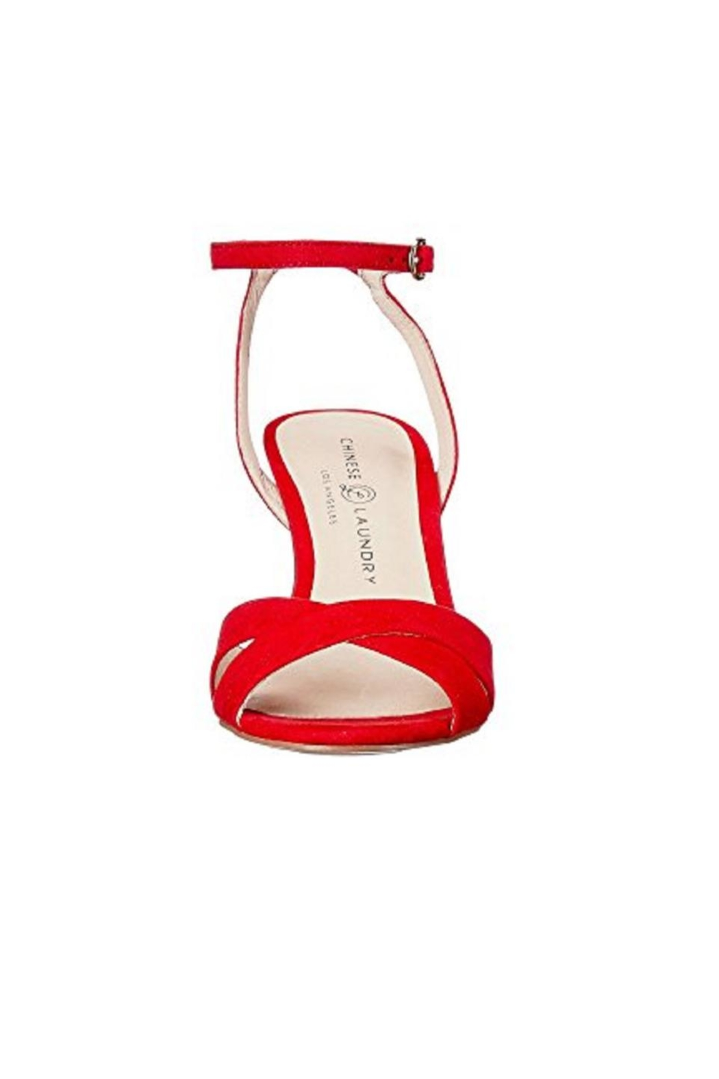 CL by Chinese Laundry Lollipop Red Pumps - Front Full Image
