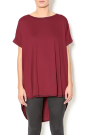 Lollipop Star Color Blocked Top - Front cropped