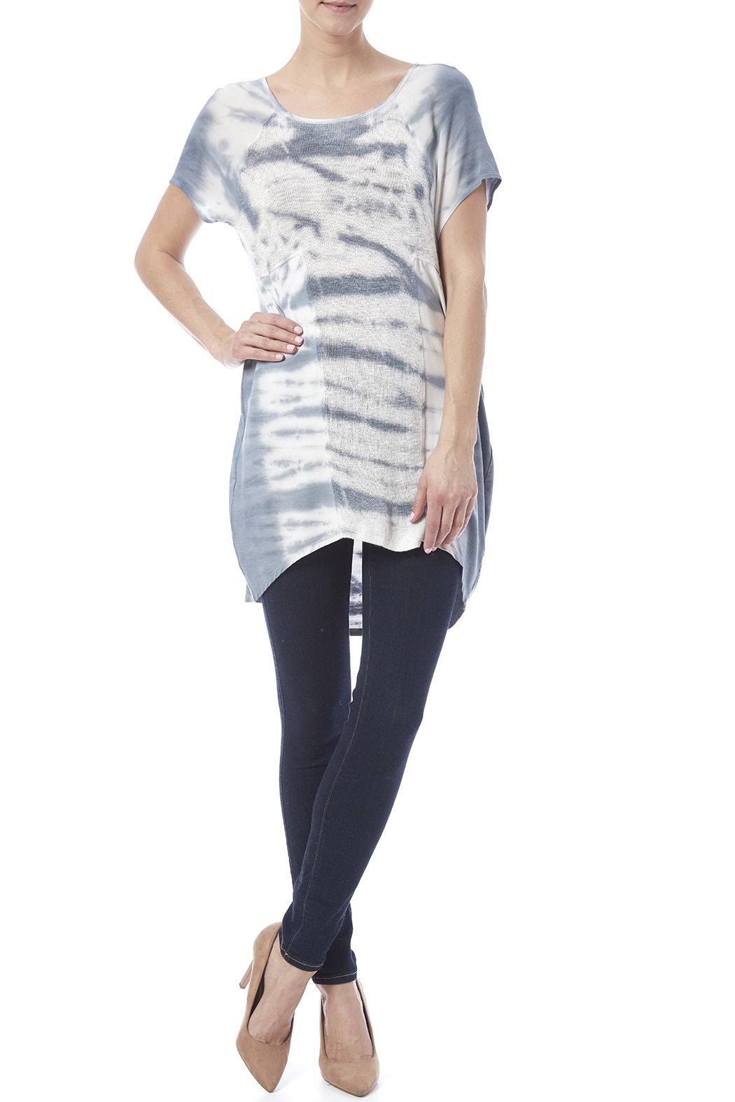 Lolly Tie Dye Tunic - Front Full Image